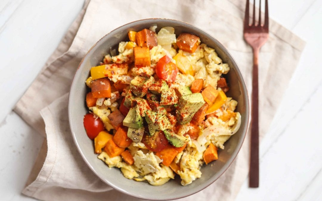 Sweet Potato & Avocado Breakfast Bowl