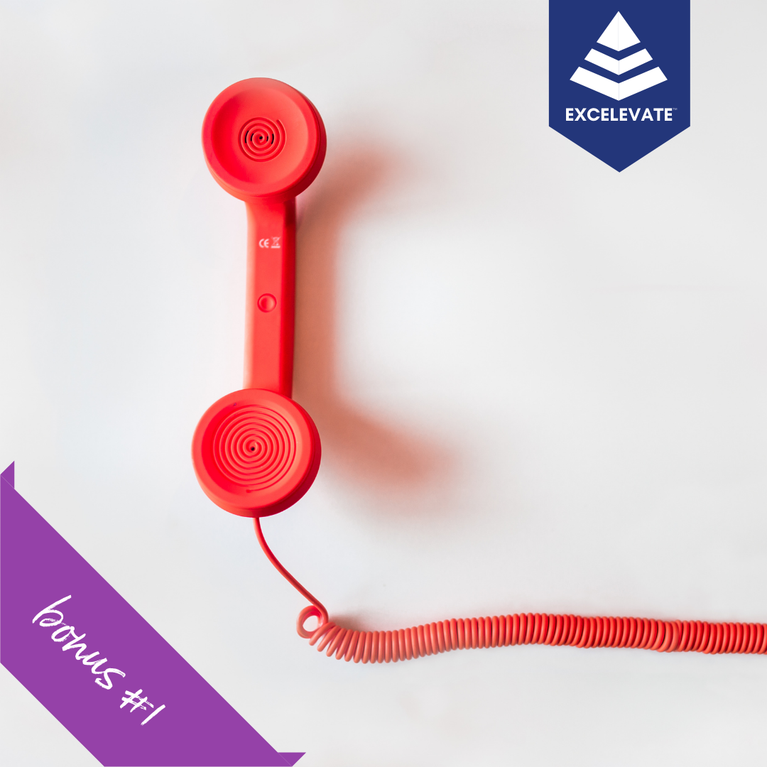 red phone discovery call